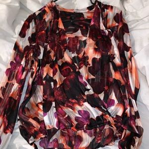 business casual blouse from guess size M